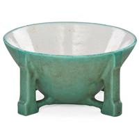 fine large buttressed bowl by teco