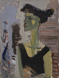 portrait of bracha by rita alima