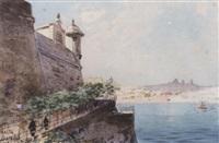 the grand harbour from st. francis de paul bay by nicholas krasnoff