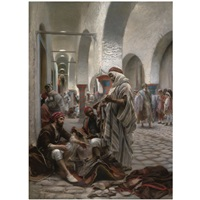 the souk el koumach, tunis by anton robert leinweber