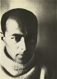 self-portrait (the constructor) by el lissitzky