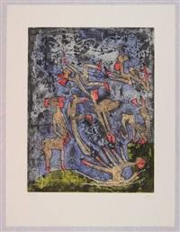 l'ame du tarot de theleme (cartella contenente cinque) by roberto matta