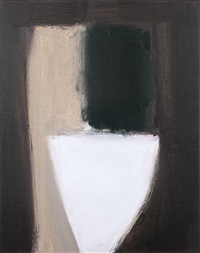 untitled, white bowl 3 by kevin lincoln