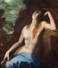 maddalena in estasi by arnold (aert) mytens