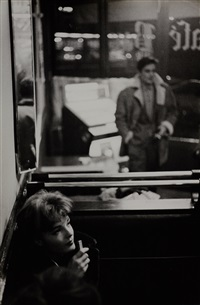 romy schneider and alain delon, paris by jesper hom