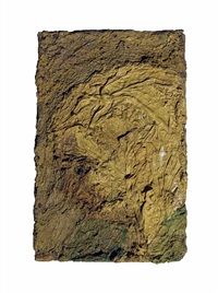 head of e.o.w by frank auerbach