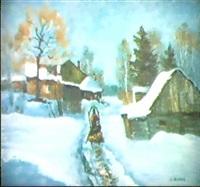 promenade dans la neige by nicolai yablokov