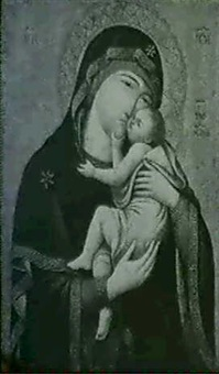 the madonna and child by pietro lorenzetti