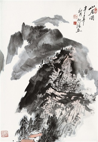 山居图 by zhao songtao