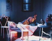 long house (pink bedroom) by laurie simmons