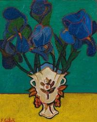 irises by françoise gilot