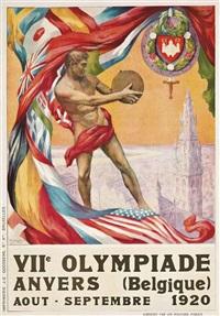 viie olympiade, anvers by walter van der ven and martha van kuyck
