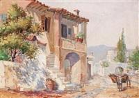 street scene by antonis kanas
