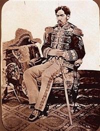 l'empereur du japon (+ l'impératrice du japon; 2 works) by uchida