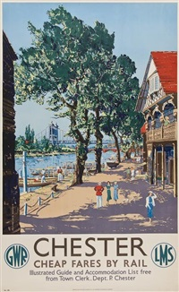 chester, gwr by claude muncaster