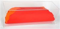 colour circle - orange/rot (dbl-sided) by dan flavin