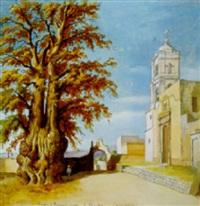 l'arbre de fernand cortez, à tacuba (la nuit triste) by jean baptiste louis (baron gros) gros