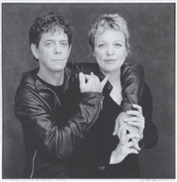 lou reed - laurie anderson by timothy greenfield-sanders