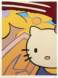 hello kitty & monkichi (2 works) by crash