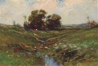 farm landscape by edward b. gay