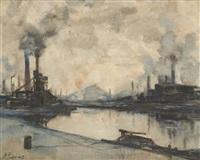 fumées sur le charbonnage by pierre paulus