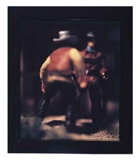 straits west (+ five trails west; 2 works) by david levinthal