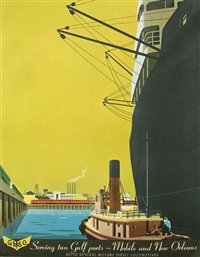 serving two gulf ports - mobile and new orleans by bern hill