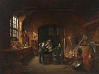 svane apotekets laboratorium by christoffer faber