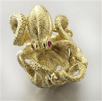 octopus ring by kurt wayne