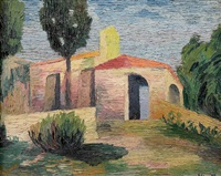 paysage d'italie by elisée maclet