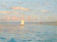 sailing boats by nikolai nikanorovich dubovskoy
