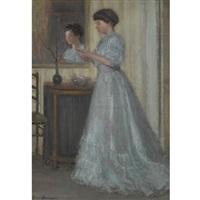 la robe bleue by bessie ellen davidson