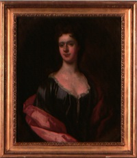 portrait of a lady by john smibert