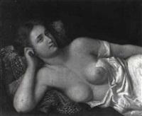 liegende junge dame by pietro boni