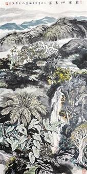 黎寨山居图 by deng zifang