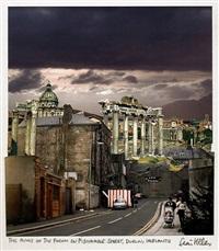 the ruins of the forum on fishamble street, dublin, irelantis by seán hillen