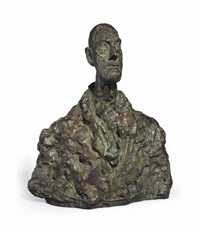 buste d'homme (diego) by alberto giacometti