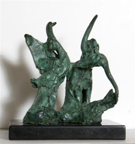 leda and the swan by reuben nakian