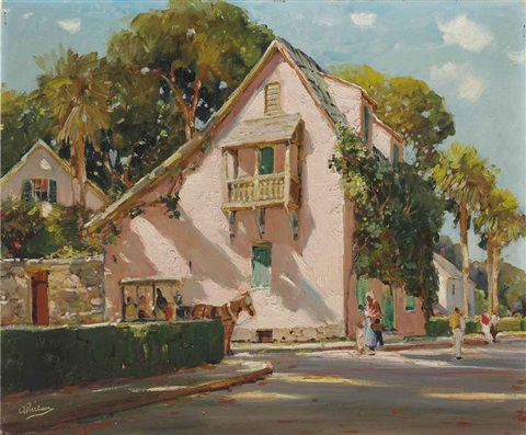 old france in florida by anthony thieme
