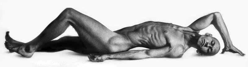 reclining figure 6 by ahmad zakii anwar