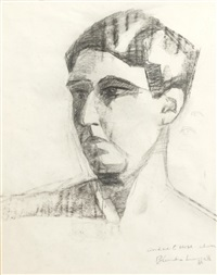 self-portrait by blanche lazzell