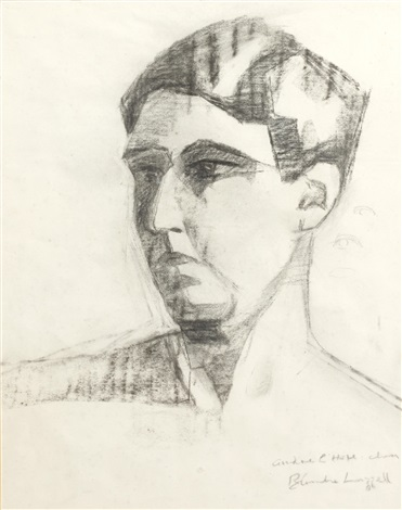 self portrait by blanche lazzell