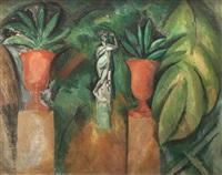la statue aux deux vases by raoul dufy