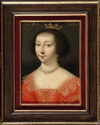 portrait de la duchesse catherine de la valette by françois clouet