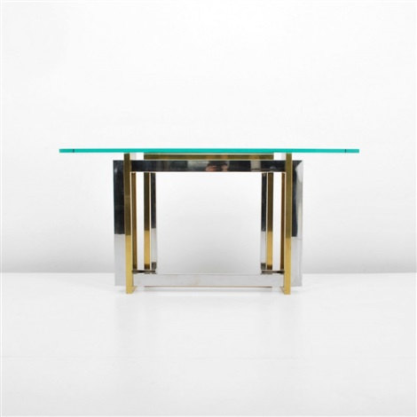 consolesofa table by willy rizzo