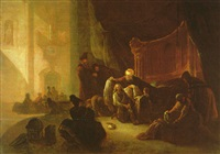 jacob giving joseph the coat of many colors by adriaen gael the younger