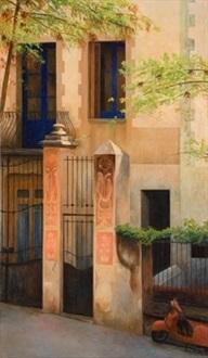 la casita de barcelona by jesús ibáñez