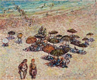 a day at the beach by roy hilton