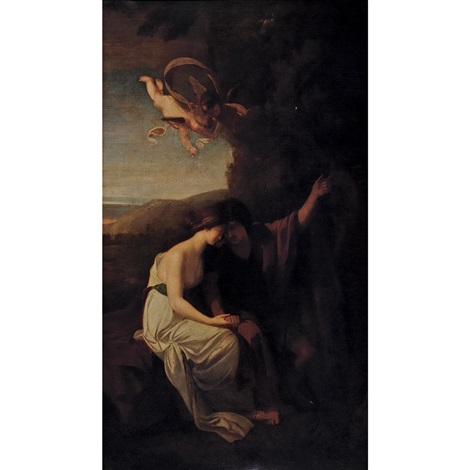 angelica and medoro by benjamin west