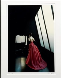 evening dress by frank horvat